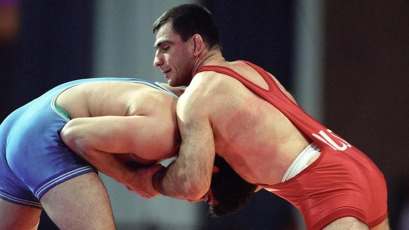 Олимпийские игры 1988 вольная борьба финал 90 кг Акира Ота JPN vs Махарбек Хадарцев USSR