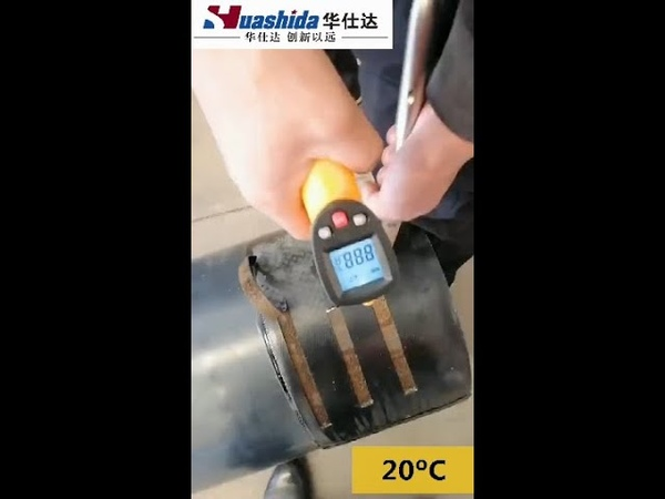 Peel strength test of Heat Shrink Sleeve for 3PE pipe