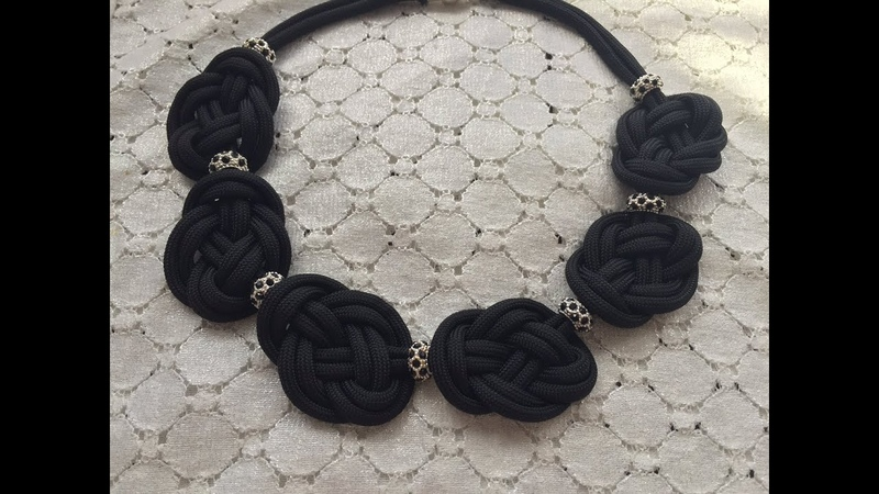 DIY Knotted Necklace