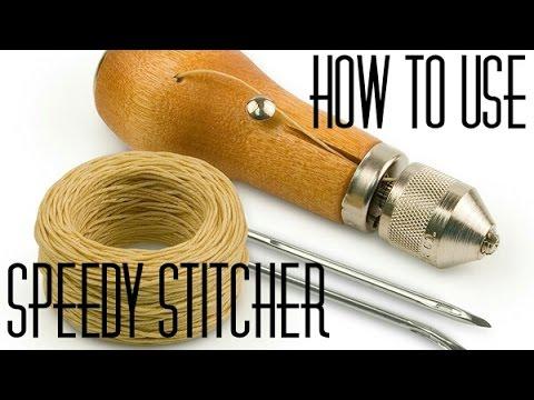 How To Sew using a Speedy Stitcher