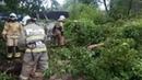Ликвидация последствий урагана в Свердловской области — видео