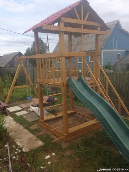 Детская площадка для дочки)