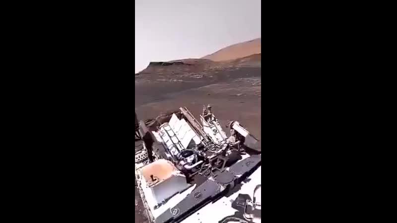 видео со звуком с поверхности Марса