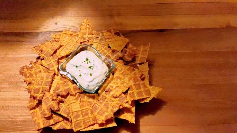 Мексиканские чипсы начос в старой советской Вафельнице Необычный и Вкусный рецепт