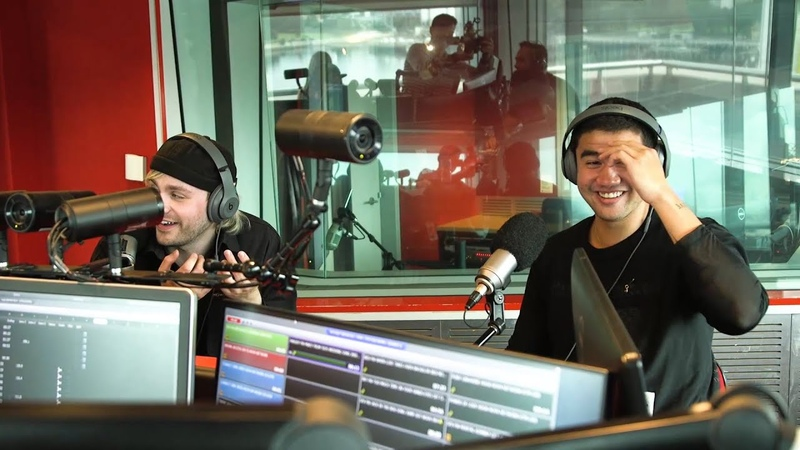 Mikey and Calum from 5 Seconds Of Summer lose it over Fitzy Wippa's surprise wedding gift