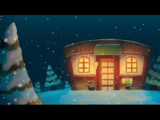 🌙 Animal Crossing | ACNL | ACNH | BGM | Relaxing music | Winter sounds | Chill & study beats 🌙