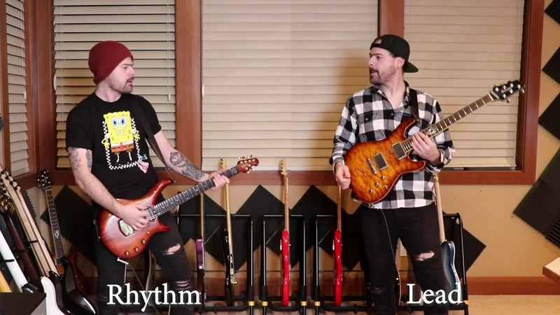 Lead vs rhythm guitar 2