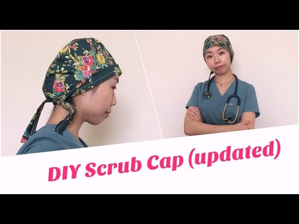 DIY Scrub Cap w printable pattern