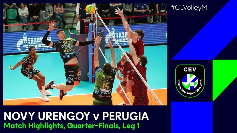 CLVolleyM Fakel NOVY URENGOY v Sit Sicoma Monini PERUGIA Match Highlights