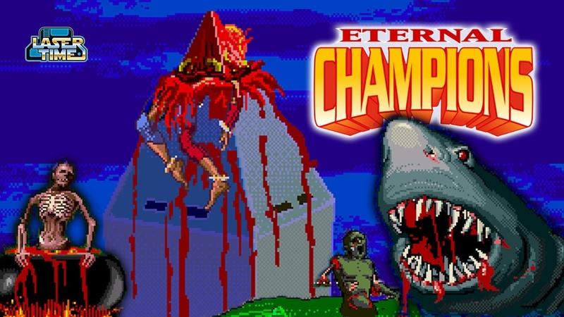 Eternal Champions Sega CD All Overkills and Sudden Deaths