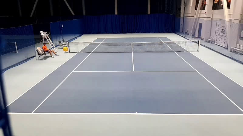 Обучение мощному теннису Желинский Вабищевич 100$