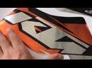 Хром наклейки KTM