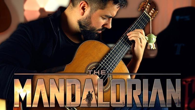 STAR WARS The Mandalorian - Main Theme Classical Guitar Cover (Beyond The Guitar)