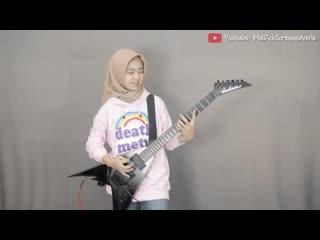 Meliani Siti Sumartini - Master Of Puppets (Metallica guitar cover)
