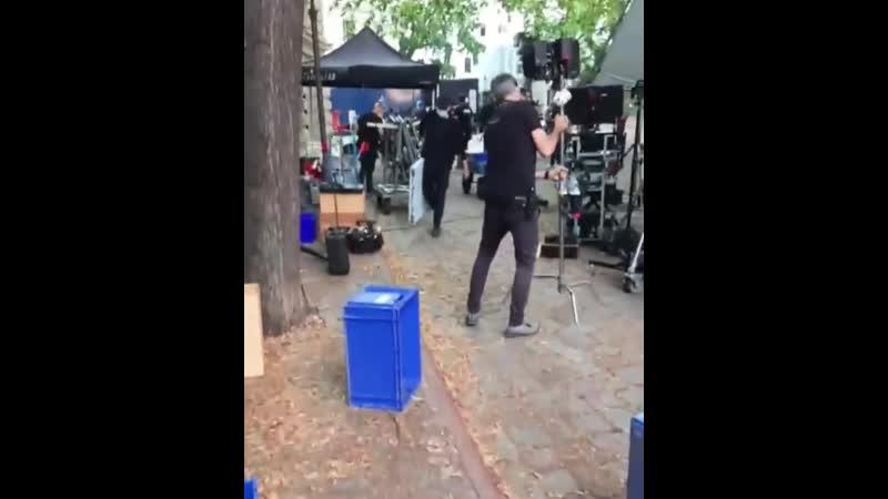 Подготовка к съёмкам Матрицы 4 Берлин 14 07 2020