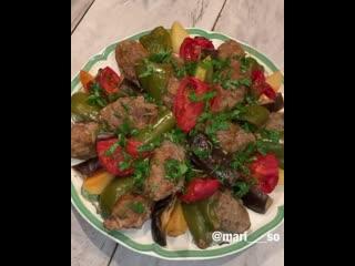Сегодня я с очень вкусным турецким рецептом Измир Кефтеси