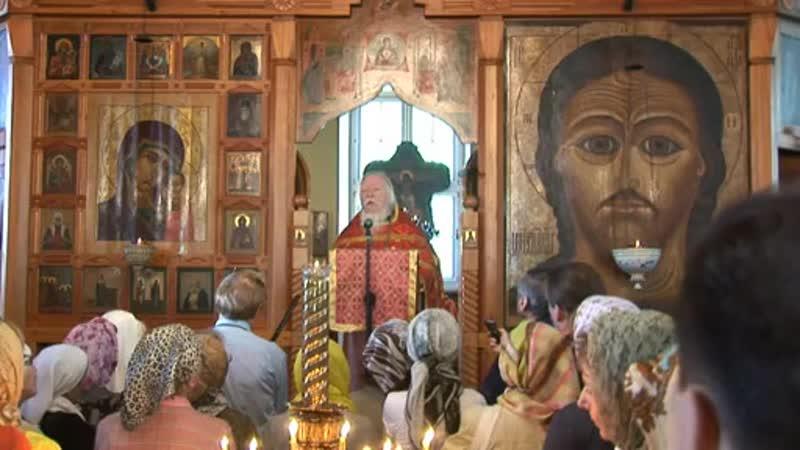2011 Проповедь в Неделю 5 ю по Пасхе о самарянке Перенесение мощей святителя и чудотворца Николая
