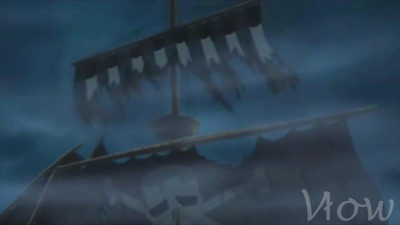 One piece пираты КиШ Хороший пират мертвый пират Аниме