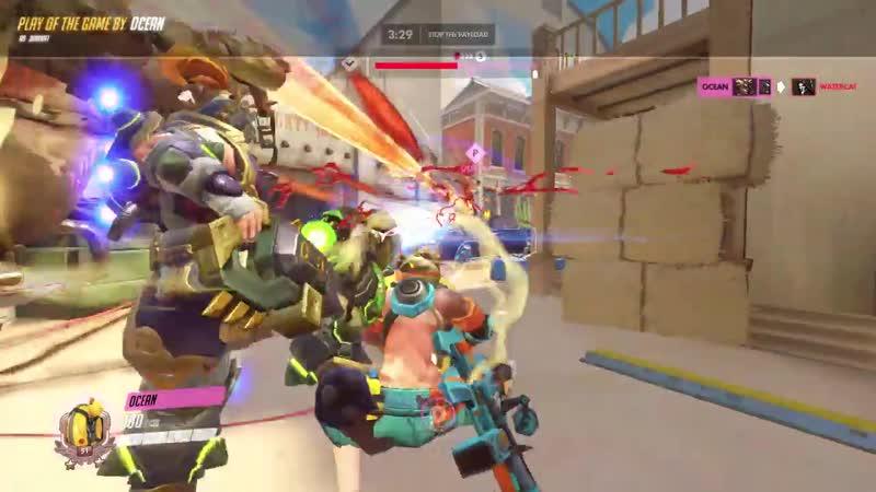 Got team kill with Zarya's perfect ult😄 (Thanks RottenMeat!)