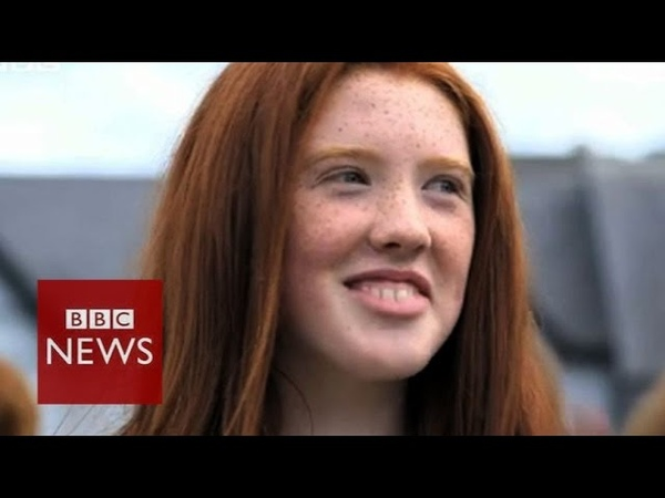 Redheads celebrate at convention in Ireland BBC News