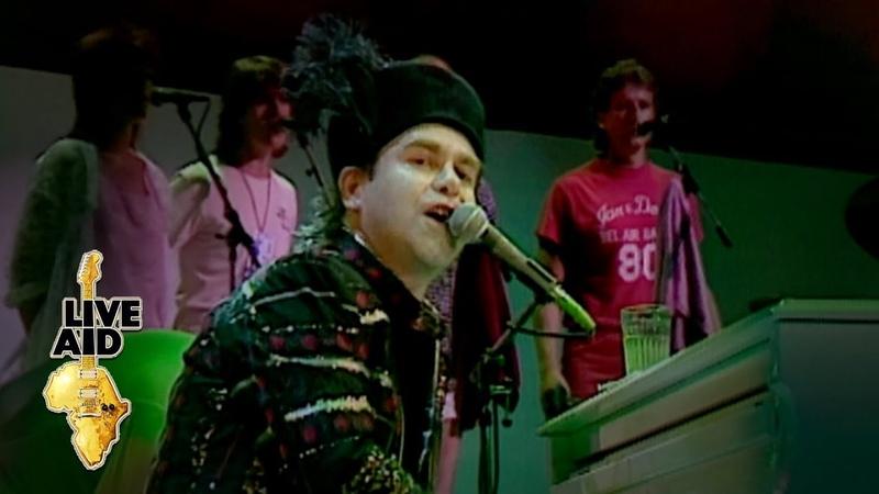 Elton John Rocket Man Live Aid 1985