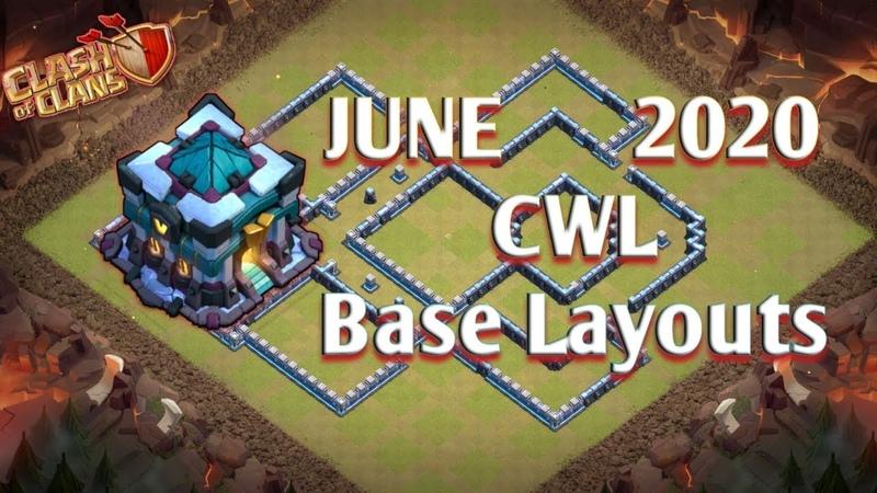 Top Th13 War Base for June CWL 2020. Link included in description.