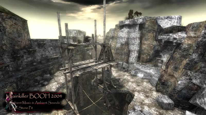 Painkiller BooH Ambient Environment Stone Pit Level