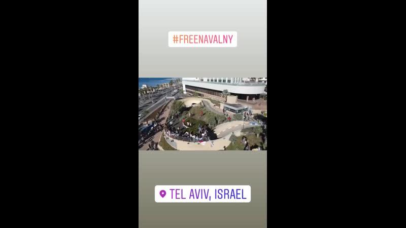 FreeNavalny TLV