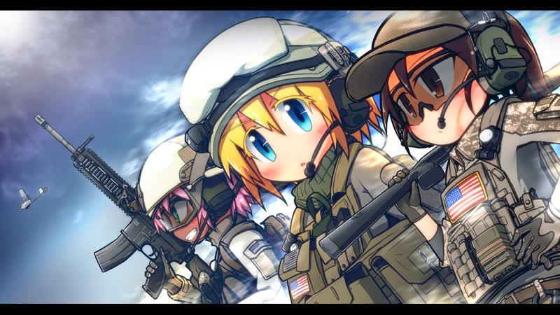 Warface играем с подругой =)