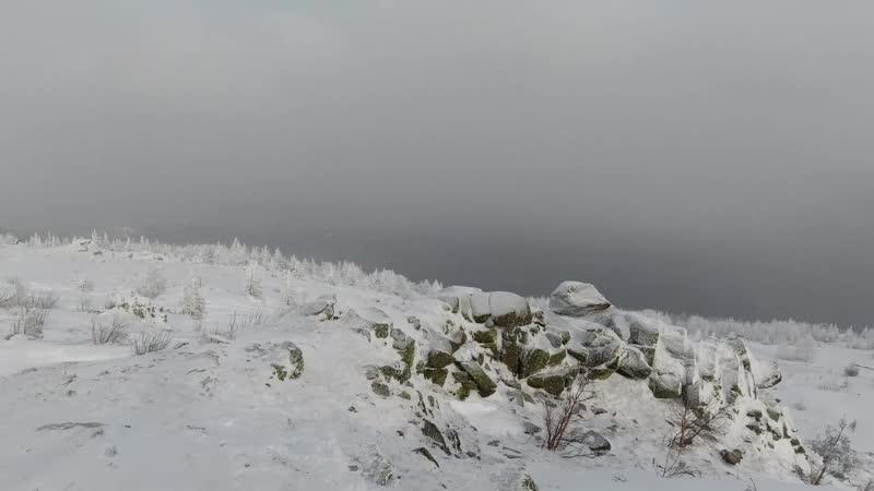 Посетили Таганай Гора Ицил 1068м Гора Метеостанция и Таганай гора 1108м