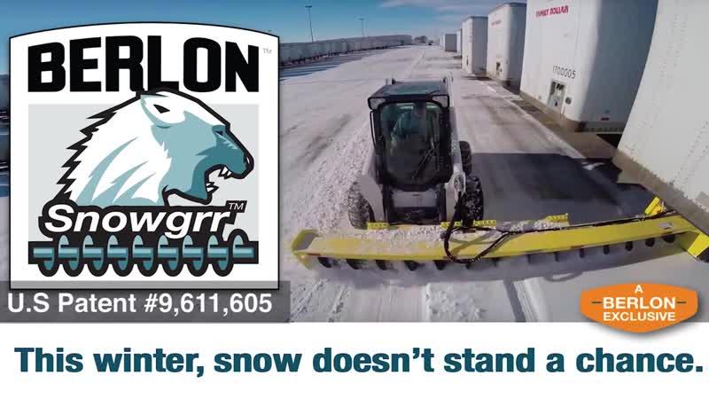 Berlon Snowgrr The Ultimate Snow Moving Tool