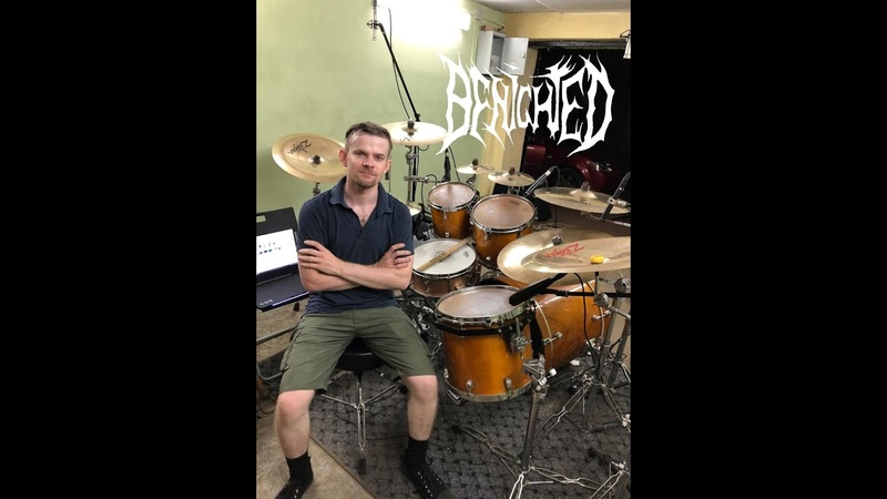 Benighted - Smoke Through The Skull (Drum Cover By Mike Ponomarev)