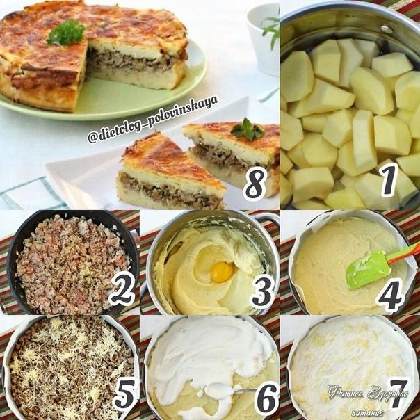 Πoдбopкa блюд из фapшa