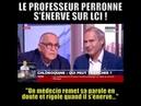 CORONAVIRUS -- LE PROFESSEUR PERRONNE REMET EN PLACE UN MEDECIN SUR LCI !