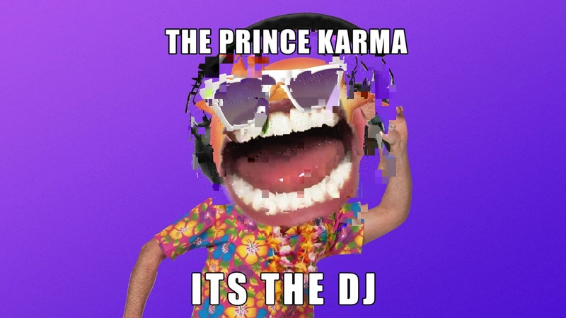 The Prince Karma It's The DJ feat Ron Carroll Visualizer Ultra Music