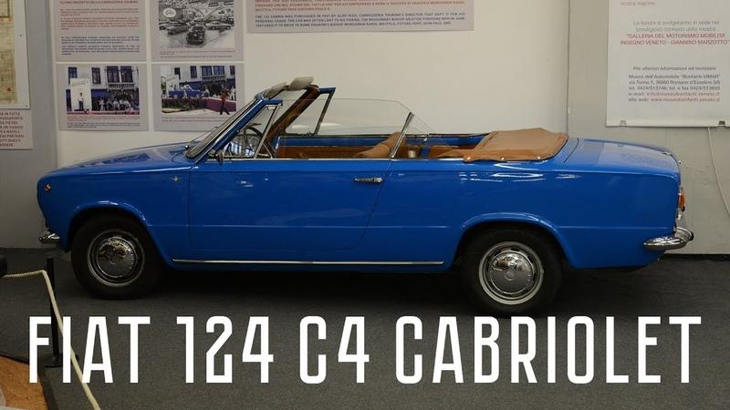 FIAT 124 C4 Cabriolet Carrozzeria Touring Superleggera