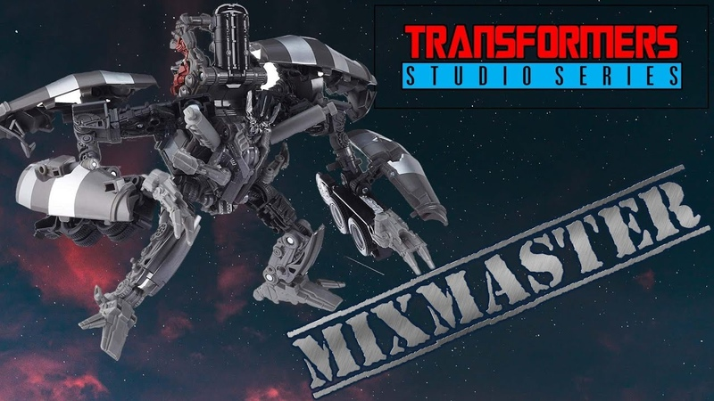 Transformers Studio Series Mixmaster