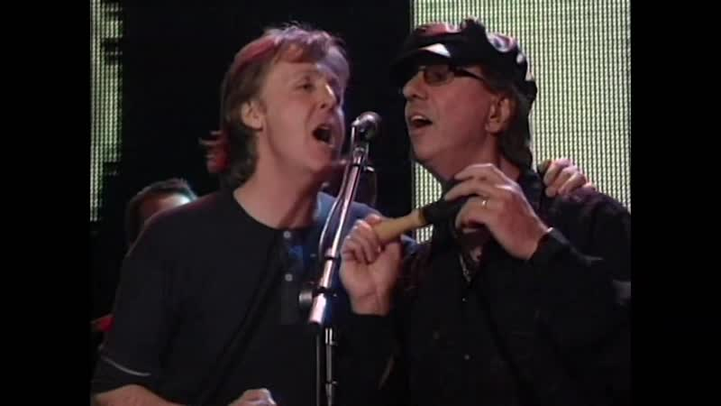 Billy Joel Paul McCartney and the Rock Hall Jam Band perform Ray Charles' What'd I Say