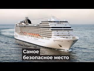 Круизный лайнер самоизолировался в океане, хотя больных на борту нет