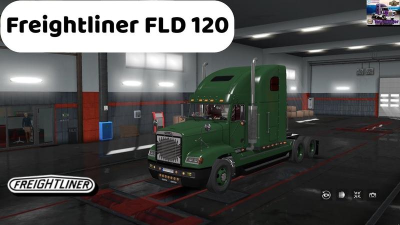 ETS 2 1 36 Трабзон Турция Бейрут Ливан Freightliner FLD 120