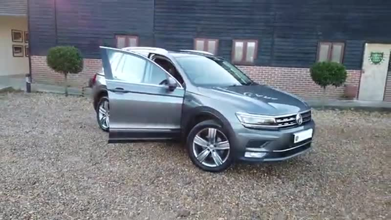 Volkswagen Tiguan 4Motion 2.0 TDI 150 DSG SEL Finished in Indium Grey