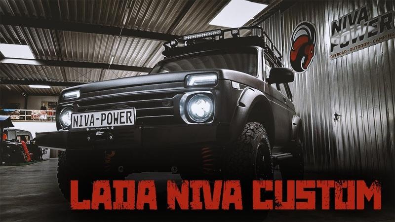 Lada Niva 4x4 Tuning Zubehör Raptor Lack vom Serien zum Traumniva