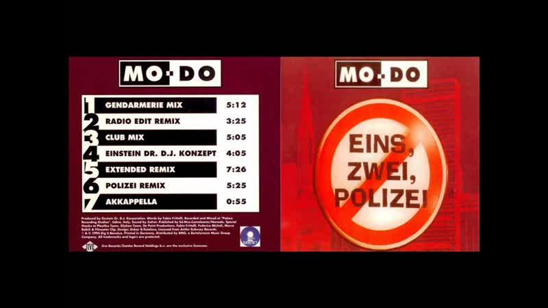 Mo Do Eins Zwei Polizei Maxi Single Full 1994