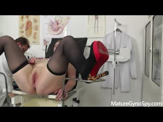 [LIL PRN] Mature Gyno Spy - Samantha Si - Chubby mommy filmed with hidden cam on her gyno exam  1080p Порно, BBW