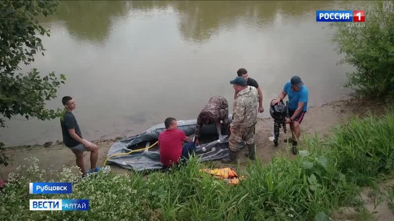 ЧП в Рубцовске на реке Алей утонули двое детей ещё один пропал