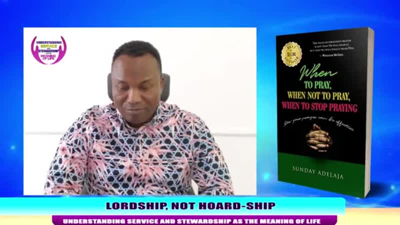 250 2019 06 17 LORDSHIP NOT HOARD SHIP UNDERSTANDING SERVICE AND STEWARDSHIP