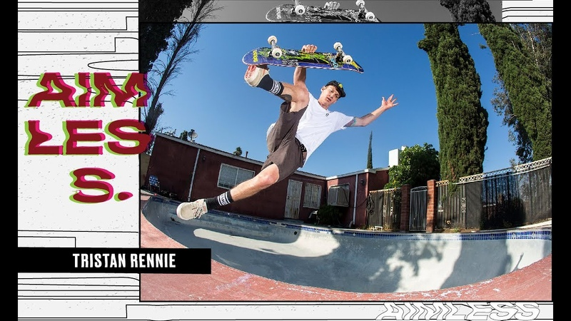 A Day with Pro Skateboarder New Father Tristan Rennie Aimless Episode 6