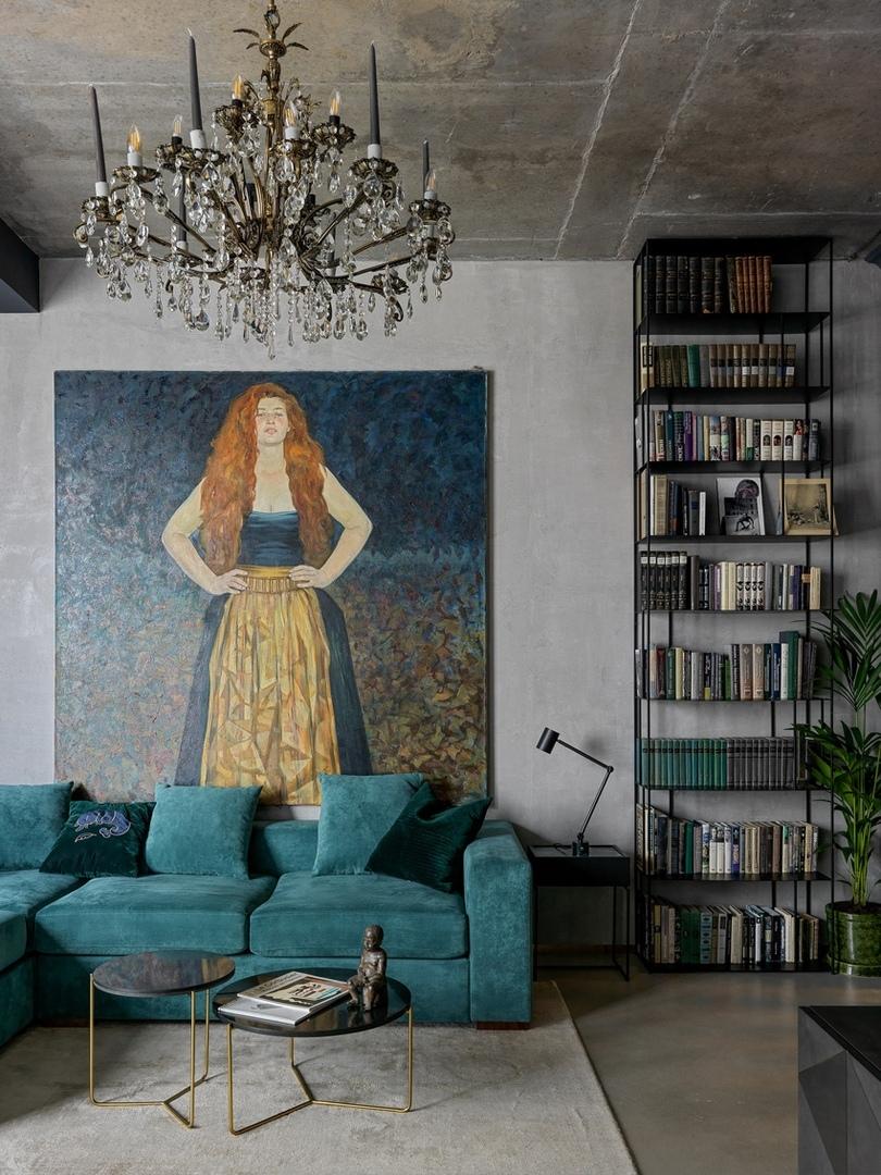 Дизайн студийной квартиры 46 кв.