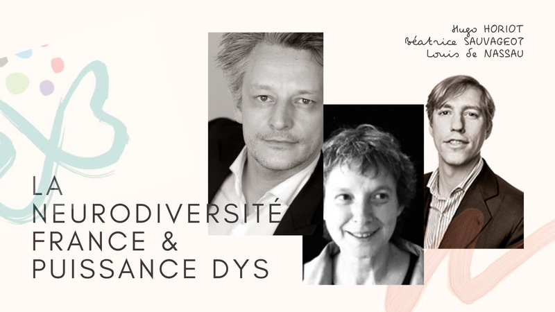 Puissance DYS Dysplay pour l'association la Neurodiversité France interview de Claire Stride
