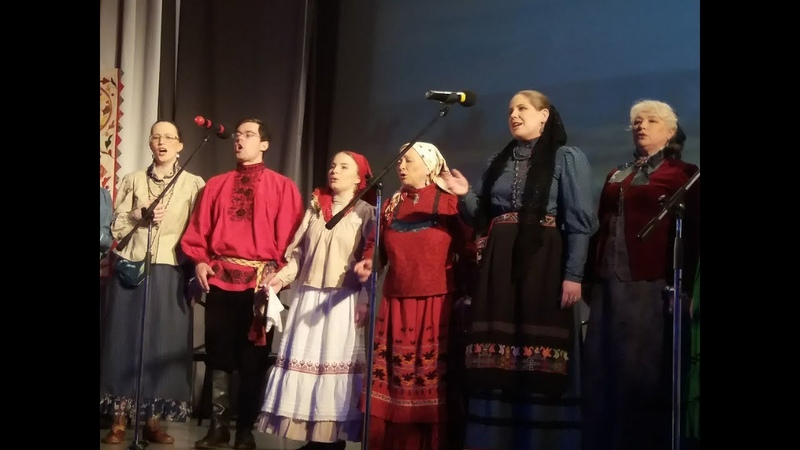 Юбилей фольклорного ансамбля Домострой
